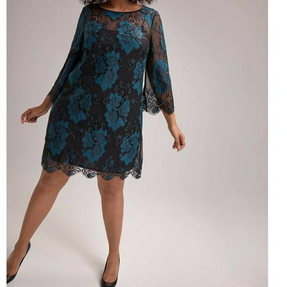 RACHEL Rachel Roy Dresses & Skirts - 🔥🆕➕ Rachel Roy 💜 Lace 2 Toned Dress